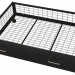 Black Under bed Storage Drawer