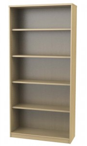 Open Bookcase with Shelves