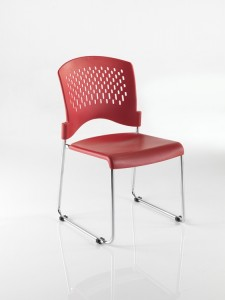 Red Dolly Chair