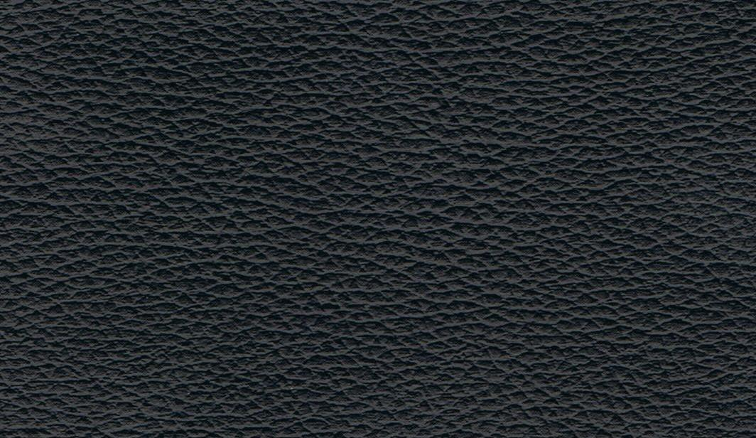 black faux leather base swatch