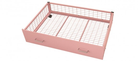Pink Underbed Storage Drawer