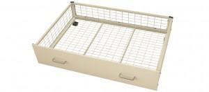 White Underbed Storage Drawers