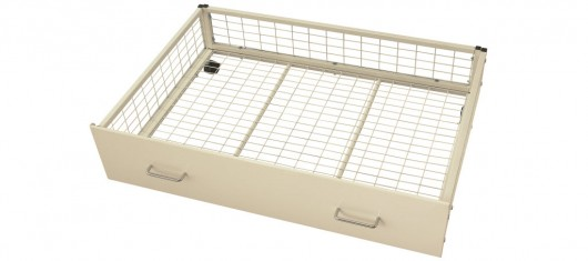 White Underbed Storage Drawers