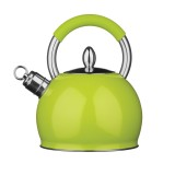 Funky Whistling Kettle in Green