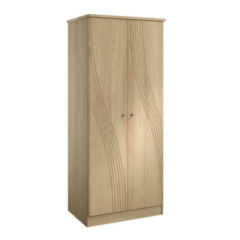 Cara 3'0'' Double Wardrobe